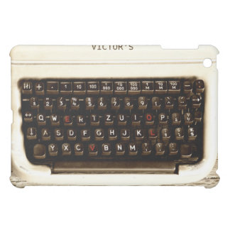 Old Fashion Love - Typewriter Machine iPad Mini Covers