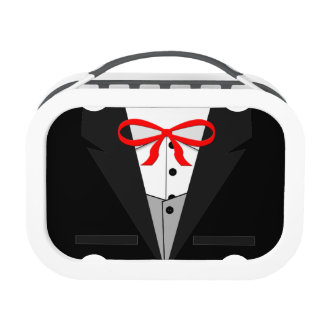 Old Fashioned Black Tuxedo Lunch Boxes