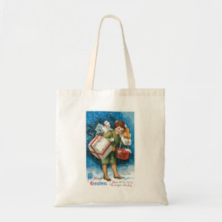 Old Fashioned Christmas Presents Tote Bag