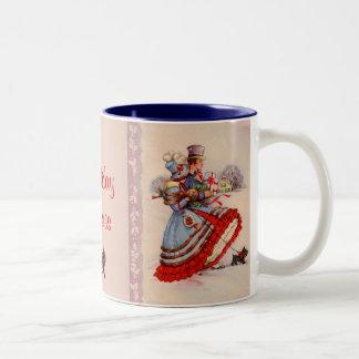 Old Fashioned Christmas Shopping Coffee Mug