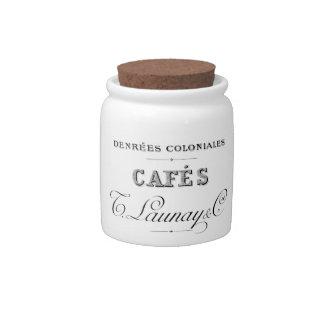 Old Fashioned Coffee Jar Candy Jar