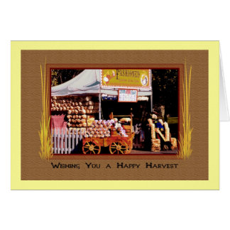 Old Fashioned Country Kettle Corn, Happy Harvest Cards