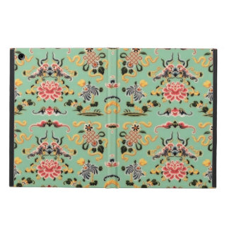 Old Fashioned Floral on Mint Green Cover For iPad Air