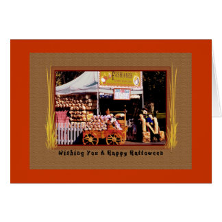 Old Fashioned Kettlecorn, Halloween Card