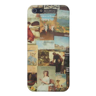 Old French Paris Advertisement Collage iPhone 5/5S Case