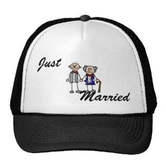 Old Gay Couple Hat