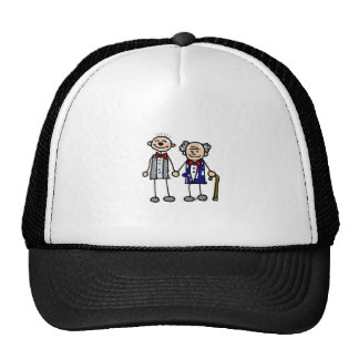 Old Gay Couple Cap
