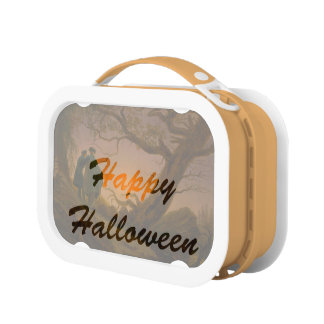 Old Halloween Lunch Boxes