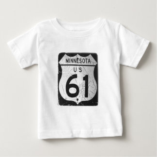 Old Highway 61 sign Baby T-Shirt