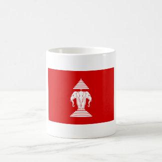 Old Lao Flag Basic White Mug