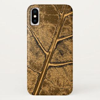 Old Leaf Fine Art iPhone X Case
