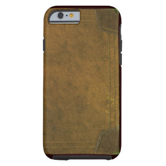 old leather book cover tough iPhone 6 case