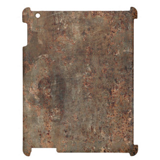 Old Leather Print iPad Case