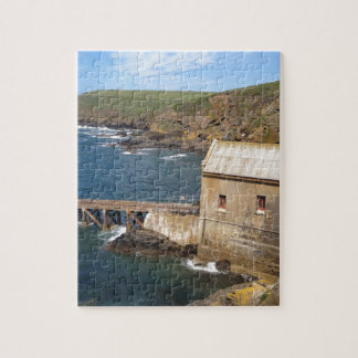 Old Lifeboat Station, Lizard Peninsula, Cornwall Jigsaw Puzzle