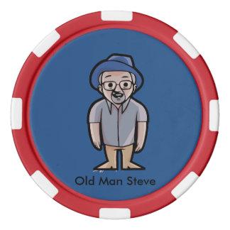 Old Man Steve Poker chips