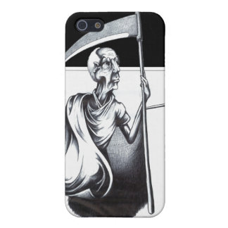 Old Man Time Case For The iPhone 5