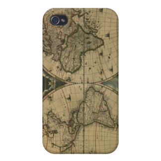 Old Map Globe iPhone 4 Cases