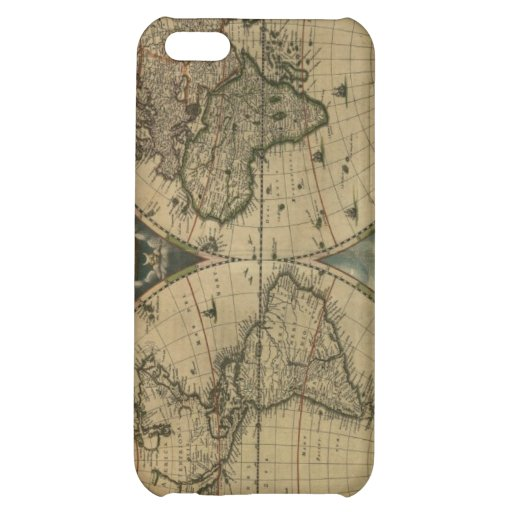 Old Map Globe iPhone 5C Cases