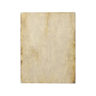 Old Parchment Paper Style Notebook Notepad