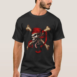 Old Pirate Skull T-Shirt