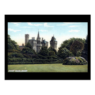Old Postcard, Cardiff Castle Postcard