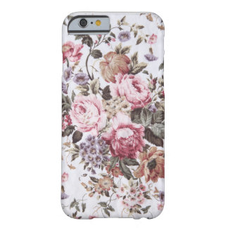 old roses vintage fabric iPhone 6 case
