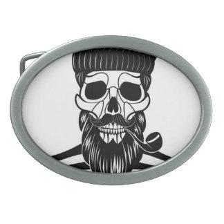 Old Sailor Skull Belt Buckle