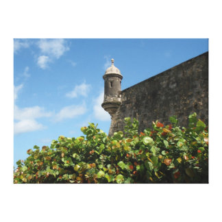 Old San Juan, Puerto Rico View Canvas Print