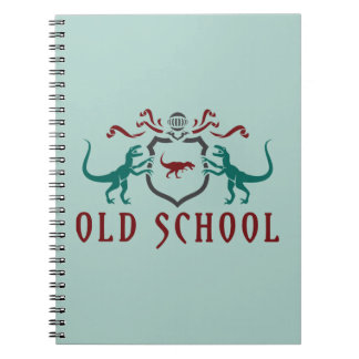 Old School Color Dinosaur Notebooks