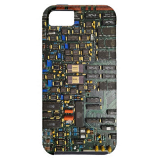 Old School Computer Board *powers* your iphone iPhone 5 Case