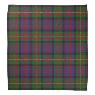 Old Scotsman Clan Carnegie Tartan Plaid Kerchief