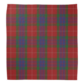 Old Scotsman Clan Fraser Tartan Plaid Bandana