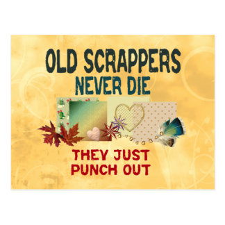 Old Scrappers Post Card