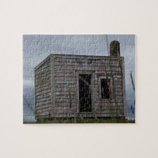 old settlers shack on the hill jigsaw puzzle