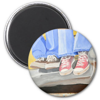 Old Shoes and Car Magnet