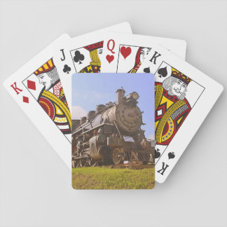 Old Steam Train Playing Cards