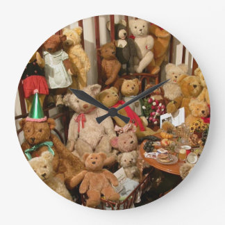 Old Teddy Bears Collection Wallclock