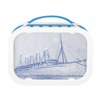 Old-Time Cruise double-sided Lunch Boxes