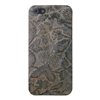 Old tooled Leather i Case For iPhone 5/5S