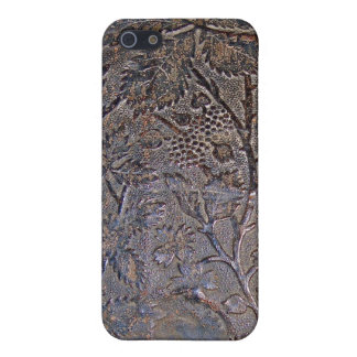 Old Tooled Leather i iPhone 5 Cases