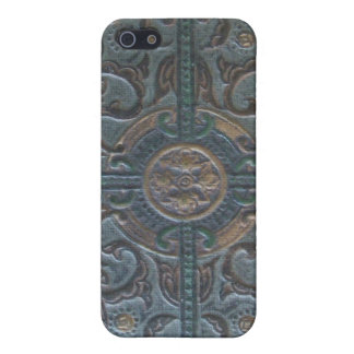Old Tooled Leather Relic iPhone 5 Cover