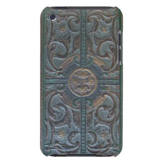 Old Tooled Leather Relic iPod Case-Mate Cases