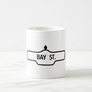 Old Toronto Street Sign - Bay Street Coffee Mug
