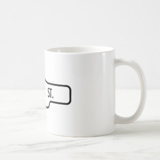Old Toronto Street Sign - Bloor Street Coffee Mug