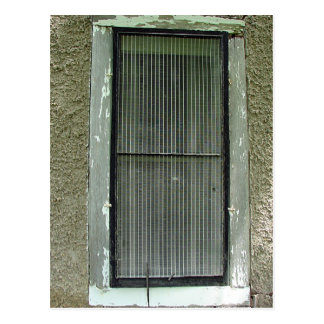 Old Window 2 Postcard