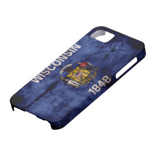 Old Wisconsin Flag iPhone 5 Case