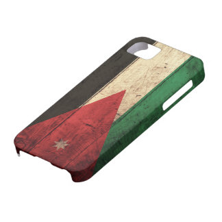 Old Wooden Jordan Flag Barely There iPhone 5 Case