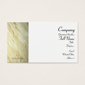 Old World Marble Wrapped Business Cards