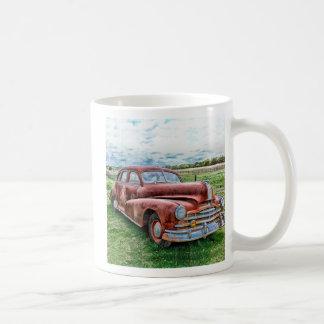 Oldsters Classic Car Vintage Automobile Old Rusty Coffee Mug