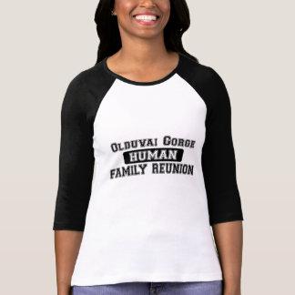 Olduvai Gorge Human Family Reunion T-Shirt